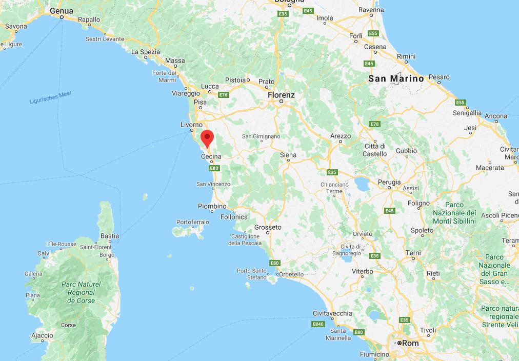 Lage in Toscana - Rosignano Marittimo